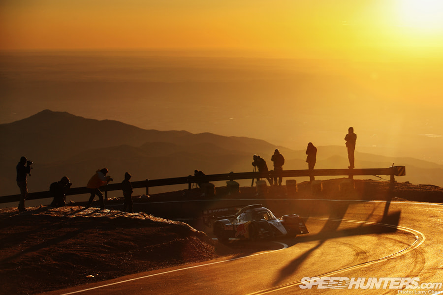 Photograph Rhys Millen on Pikes Peak by Larry Chen on 500px