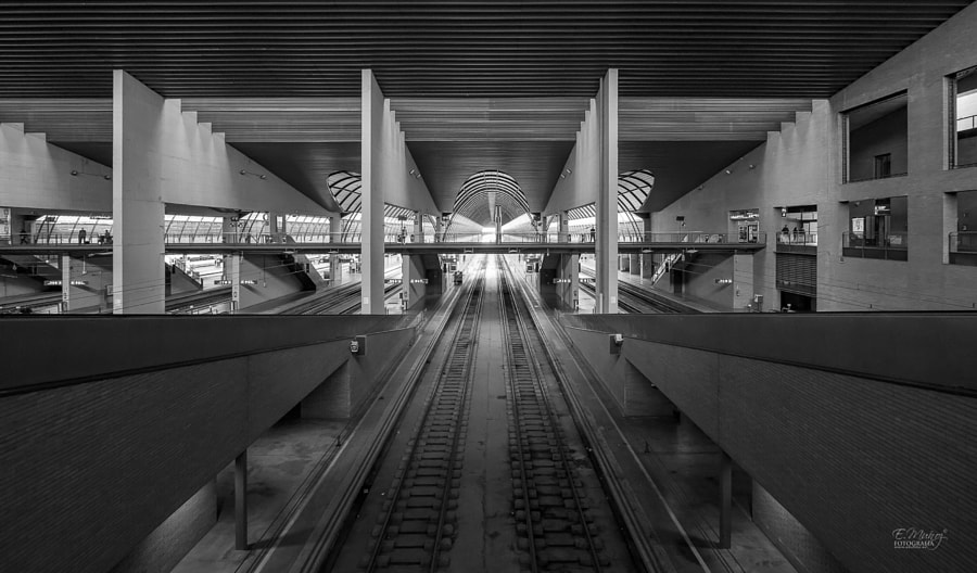 Santa Justa Railway Station by Eduardo Muñoz on 500px.com