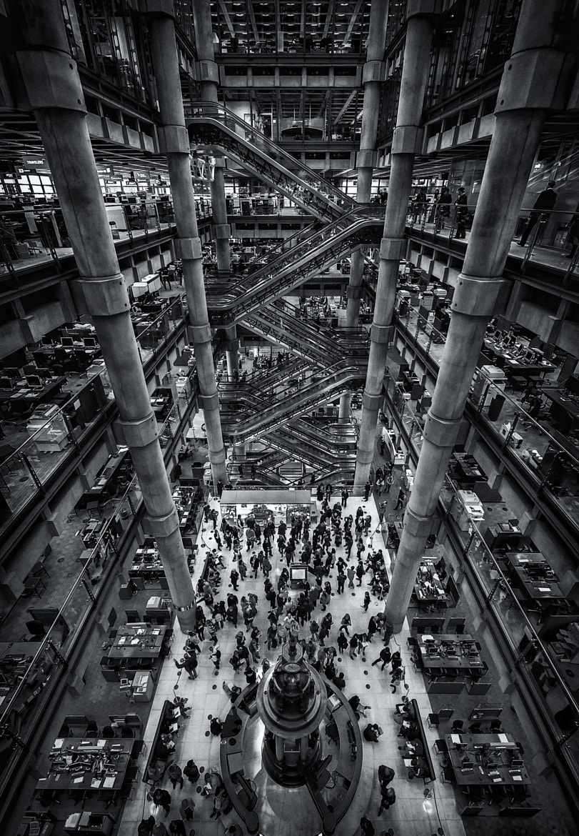 Photograph Lloyds of London by .Vulture Labs on 500px