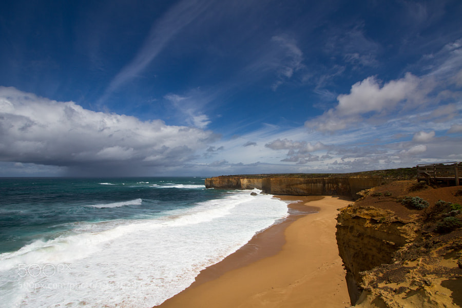 Great Ocean Road Weather by Hans Fischer (hansfischer)) on 500px.com
