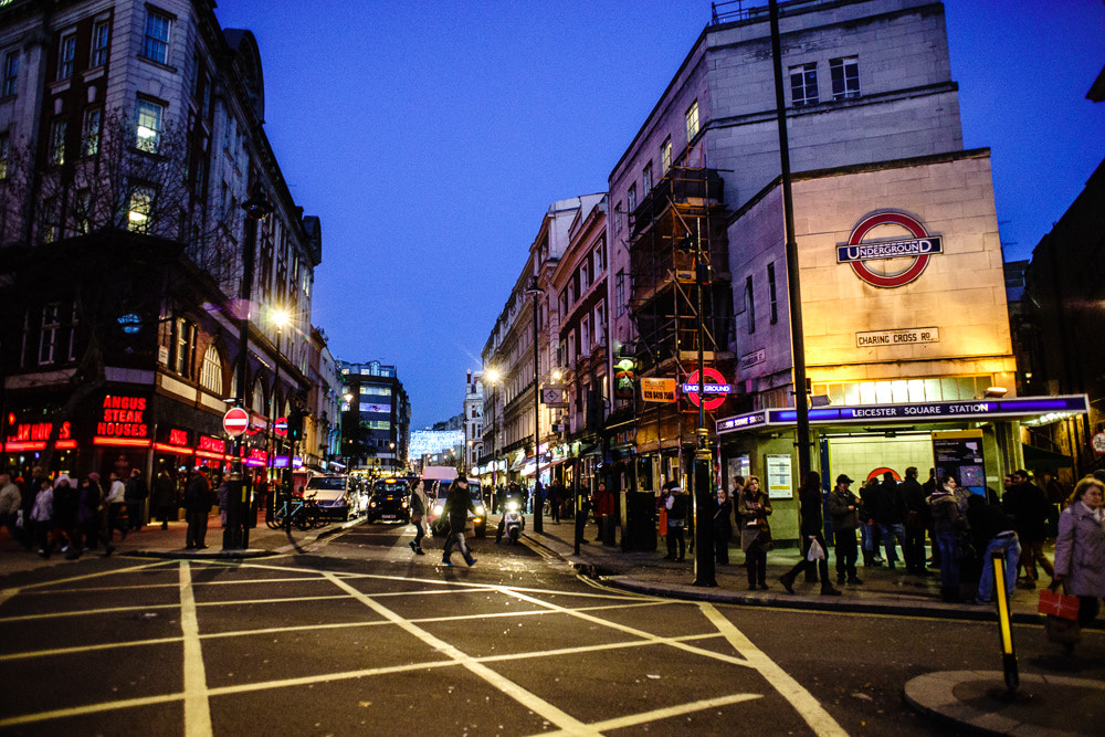 Photograph Leicester Square Station by Tom O'Donoghue on 500px