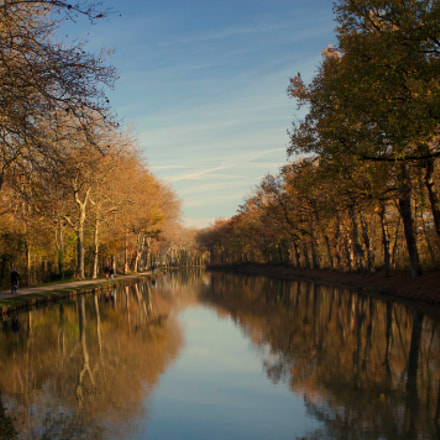 Canal du Midi, Canon EOS KISS X50, Canon EF-S 18-55mm f/3.5-5.6 IS II