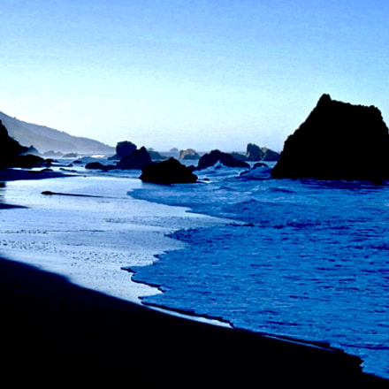 Big Sur, Monterey County, Canon POWERSHOT SD850 IS