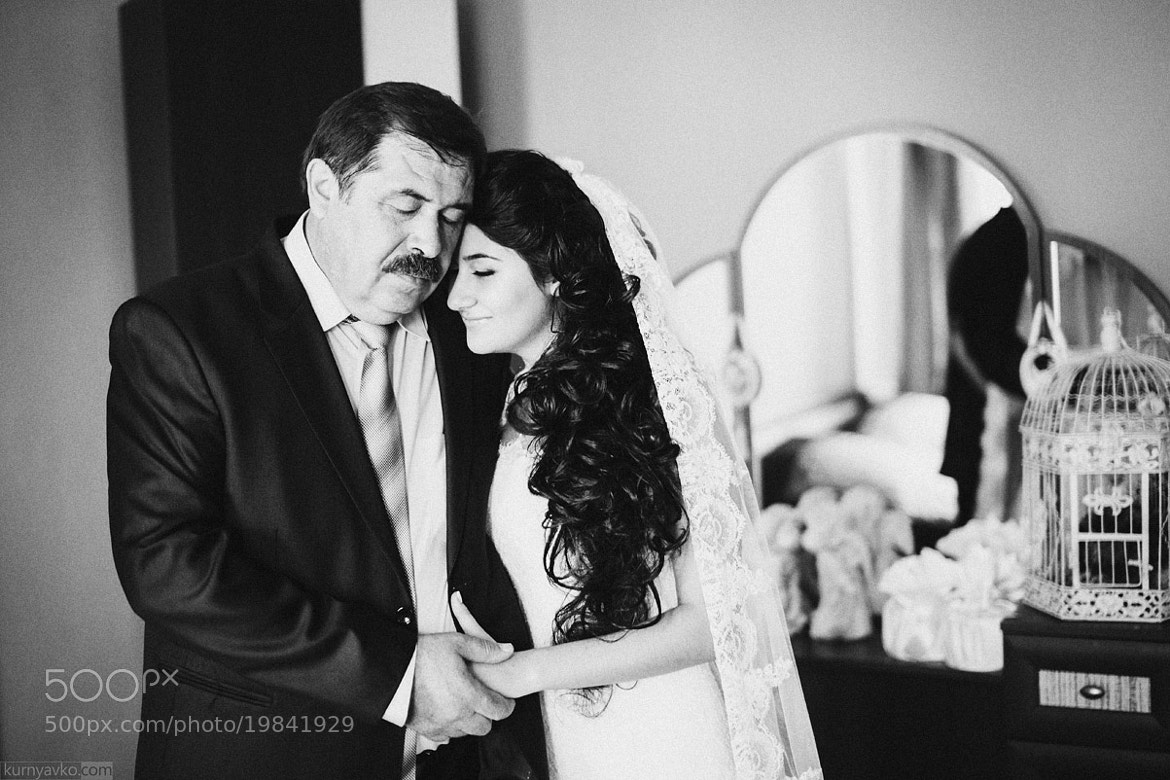 Photograph Dad and bride by Dmitriy Kurnyavko on 500px