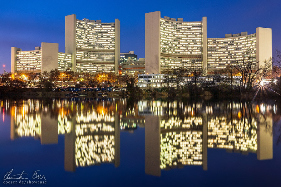 Photograph Vienna United Nations Office by Christian Öser on 500px