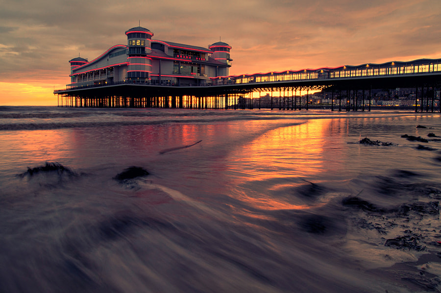 Photograph Grand Pier at Weston by Martin Turner on 500px