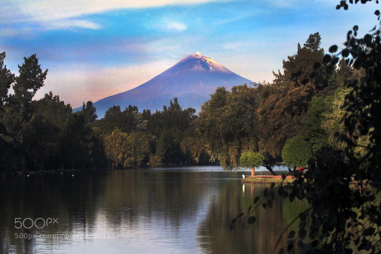Photograph Lagoon and volcano by Cristobal Garciaferro Rubio on 500px