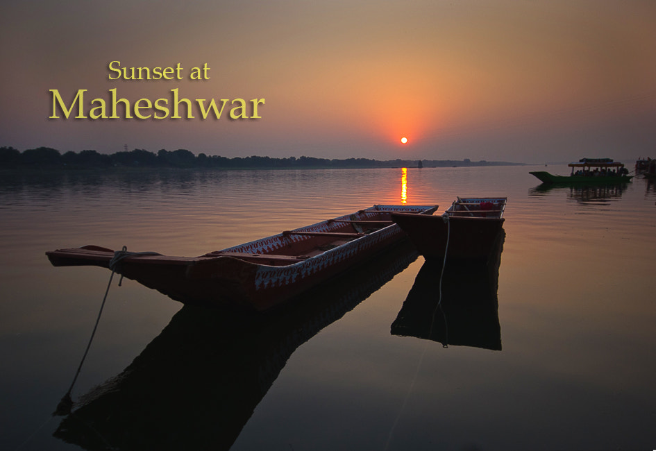 Photograph Sunset at Maheshwar by Balwant Alawa on 500px