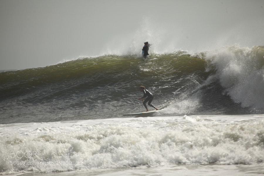Jersey Shore after a storm Sept 2011
