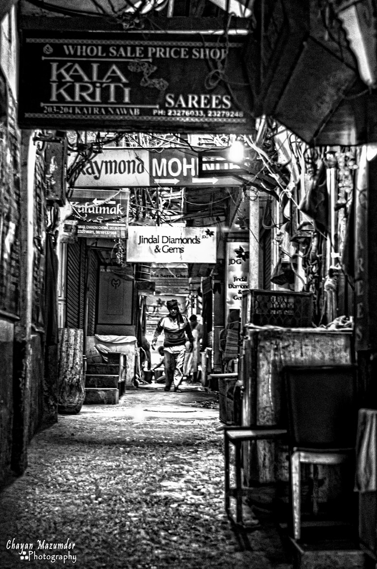 Photograph The lanes of Old Delhi by Chayan Mazumder on 500px