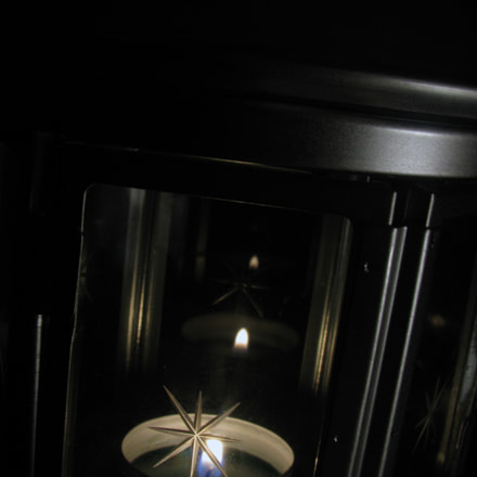 Candle with Glass, Canon POWERSHOT SX100 IS