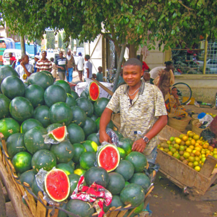 Fresh Watermelons, Canon POWERSHOT SD1300 IS