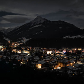 Photograph nightClouds by Lukas Bachschwell
