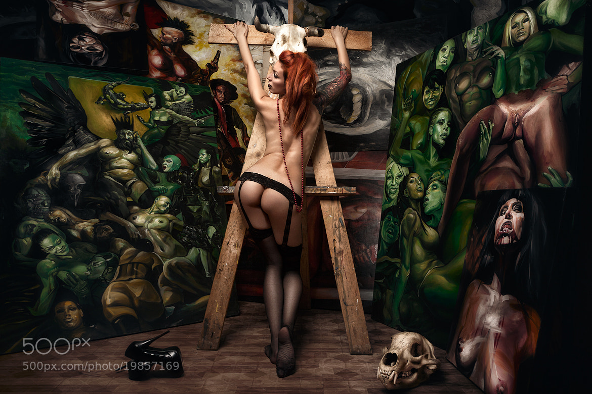 Photograph Crucified by Daniel Ilinca on 500px