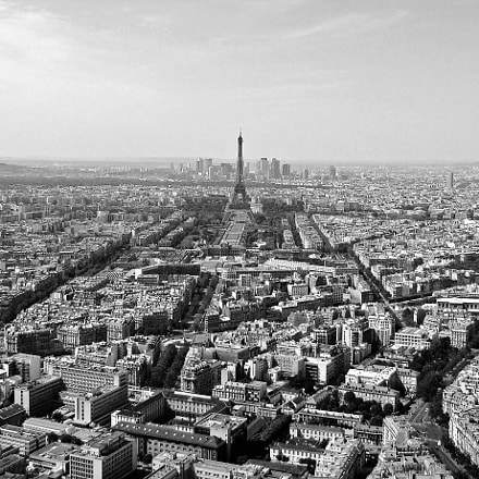 Paris from a height, Sony DSC-H9
