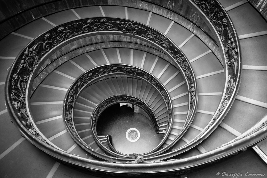 Photograph Vatican - Spiral Stairs by Giuseppe Cammino on 500px