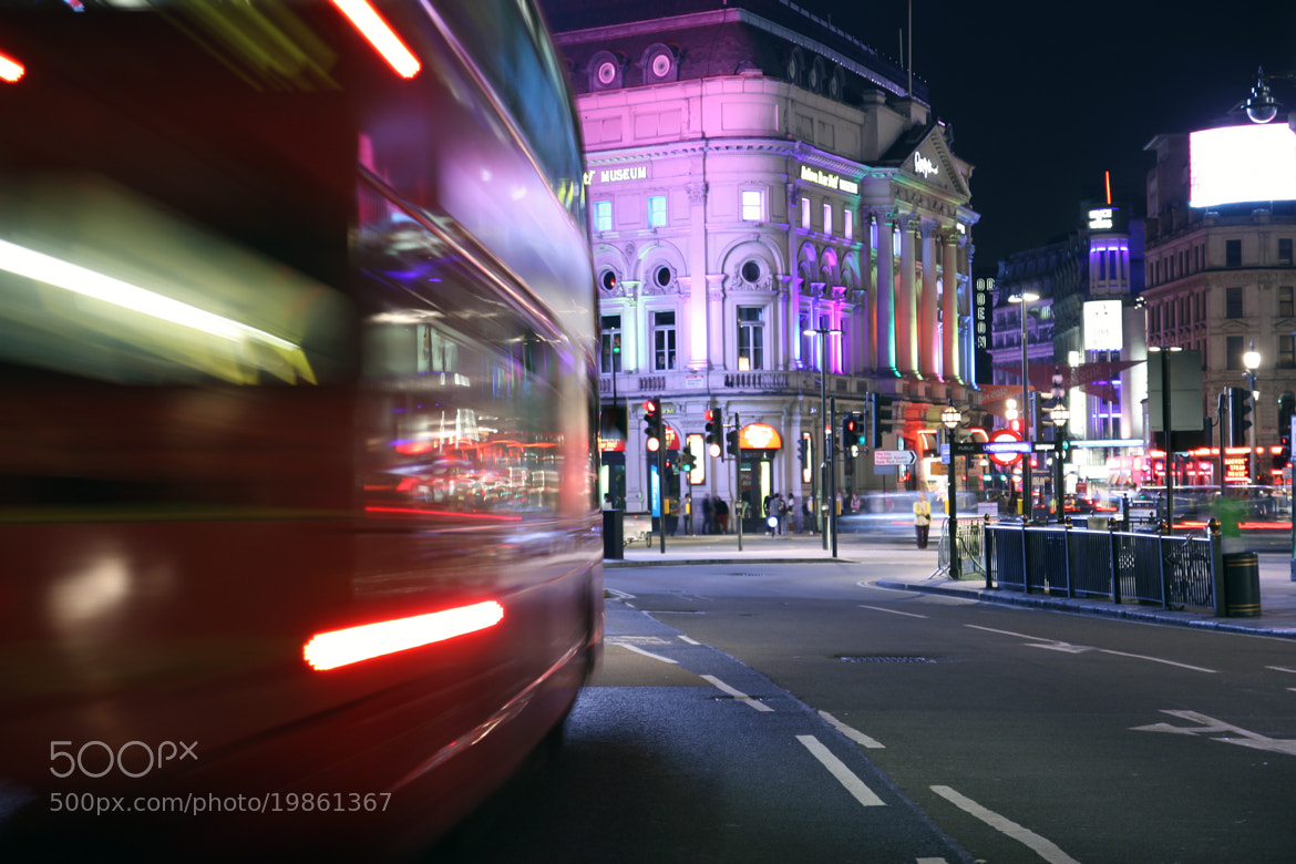 Photograph Crazy red bus by Tony Gravé on 500px