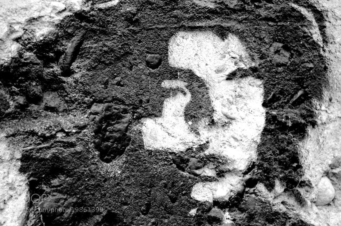 Photograph Figure on the wall by ionutmarcel on 500px
