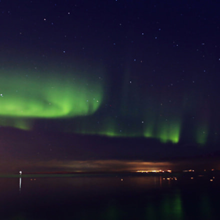 northern light, Canon EOS 6D, Canon EF 35mm f/1.4L USM