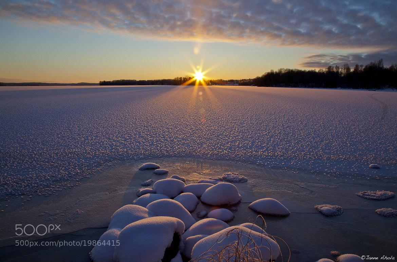 Photograph Winter sunset II by Jne Valokuvaus  on 500px