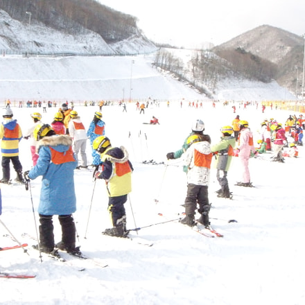 Skiing in Korea, Sony DSC-T500