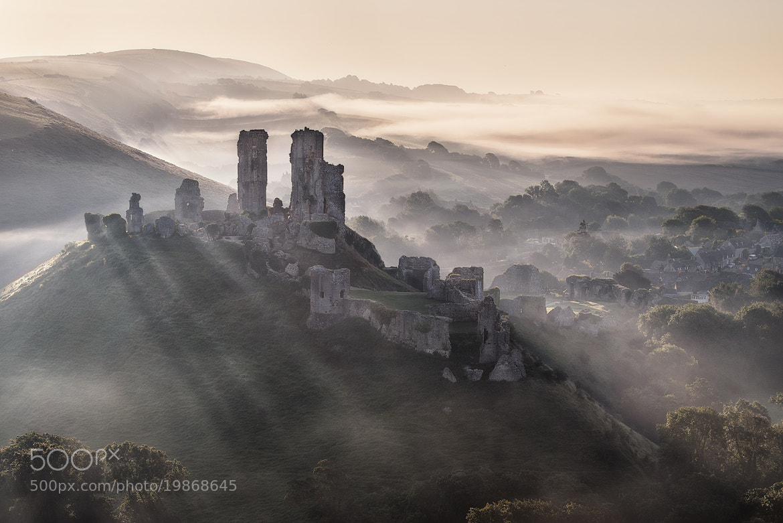 Photograph misty castle by Mirek Galagus on 500px