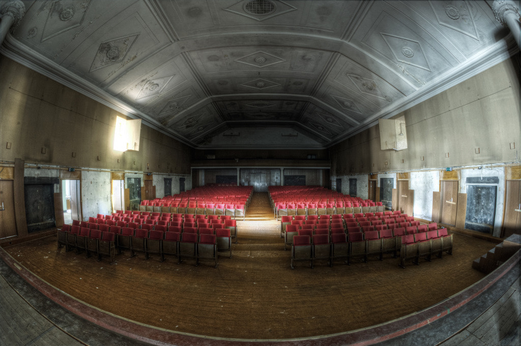 Photograph Take your seats the shows about to start by Don  on 500px