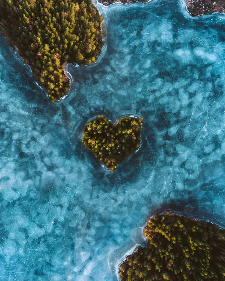 Land of love. Drone shot my me, composite by my friend Karl Ndieli by Oscar Nilsson on 500px.com