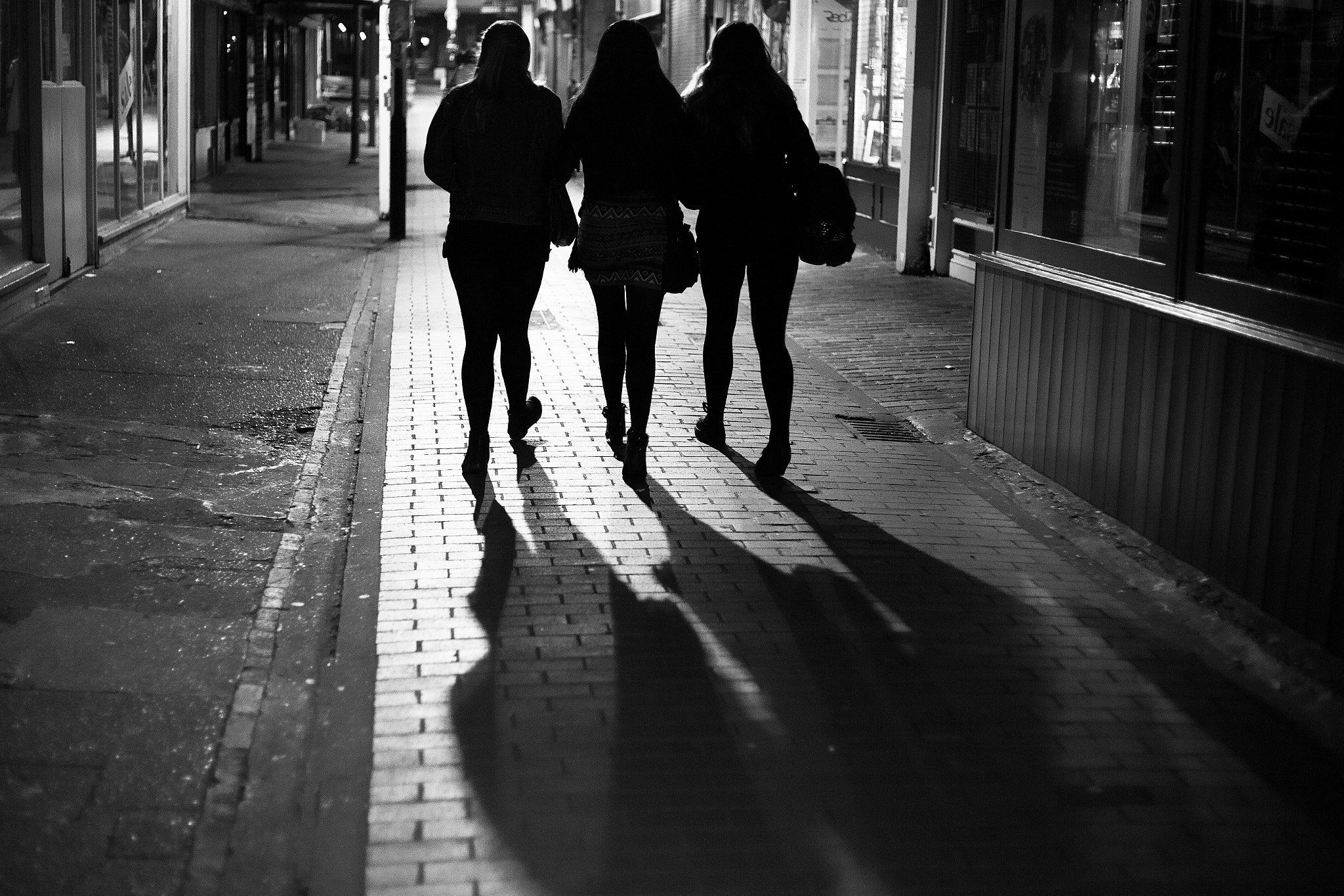 Photograph Girls on the town by Dade Freeman on 500px