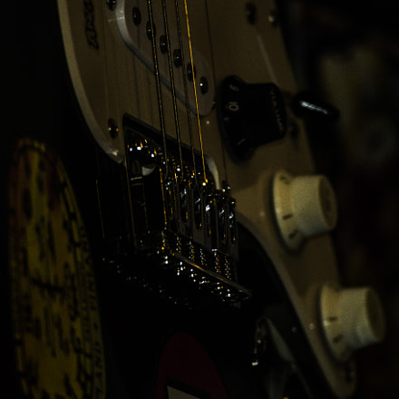 My guitar, RICOH PENTAX K-S1, Sigma EX APO 100-300mm F4 IF