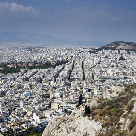 View from Lycabettus Hill, Sony DSC-T200