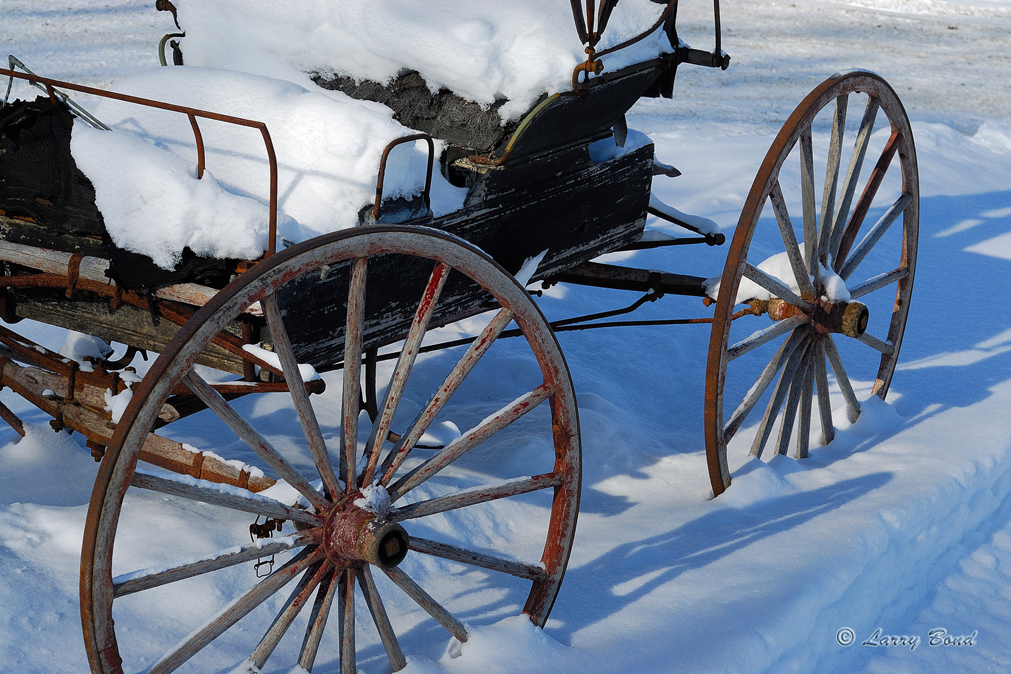 Photograph Old Mennonite Buggy by Larry Bond on 500px