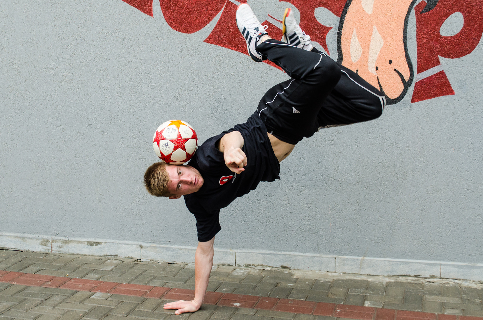 Photograph Freestyle Football Champ by Sarah Khalaf on 500px
