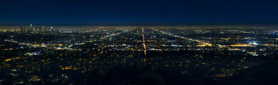 Photograph Los Angeles View from the griffith observatory by gladek on 500px
