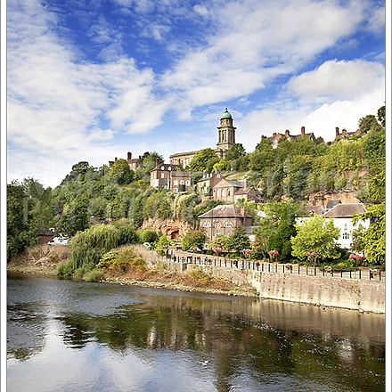 The Town of Bridgnorth on the River Severn
