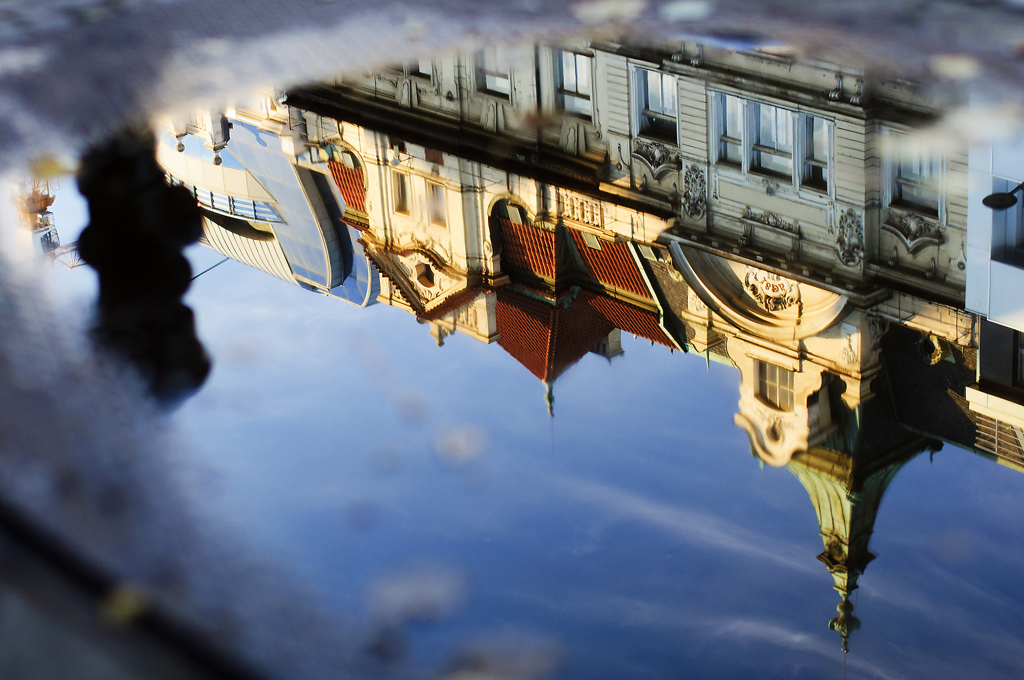 Photograph praha in the mirror by Alessandro Galloni on 500px