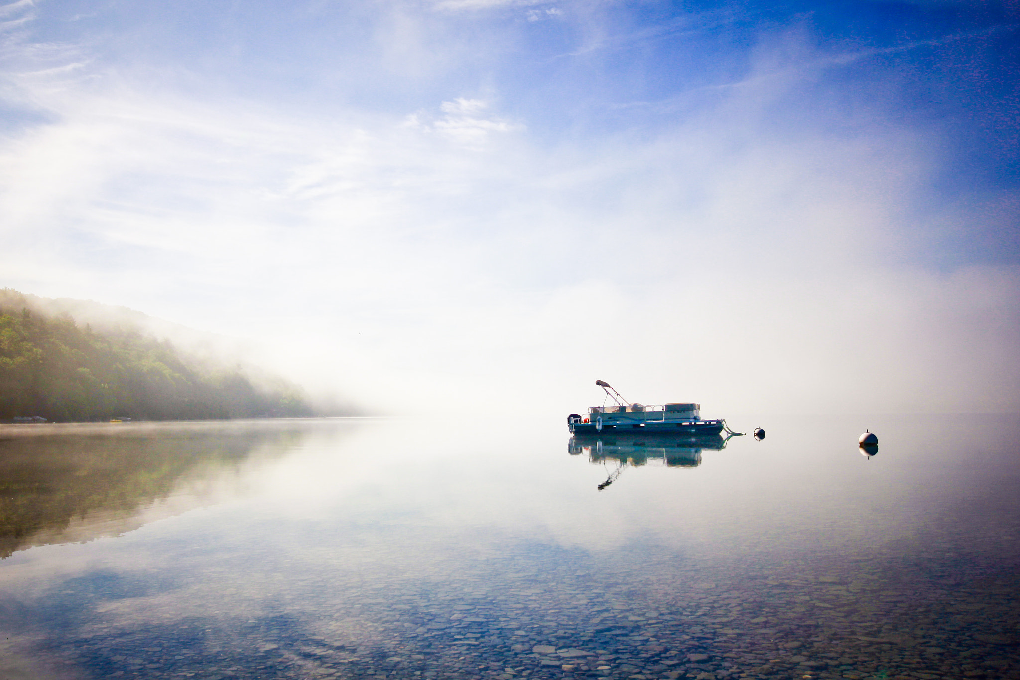 Photograph Skaneateles Fog by Tyler Holbein on 500px