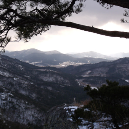 Seonun Mountain In Winter, Fujifilm FinePix J110W