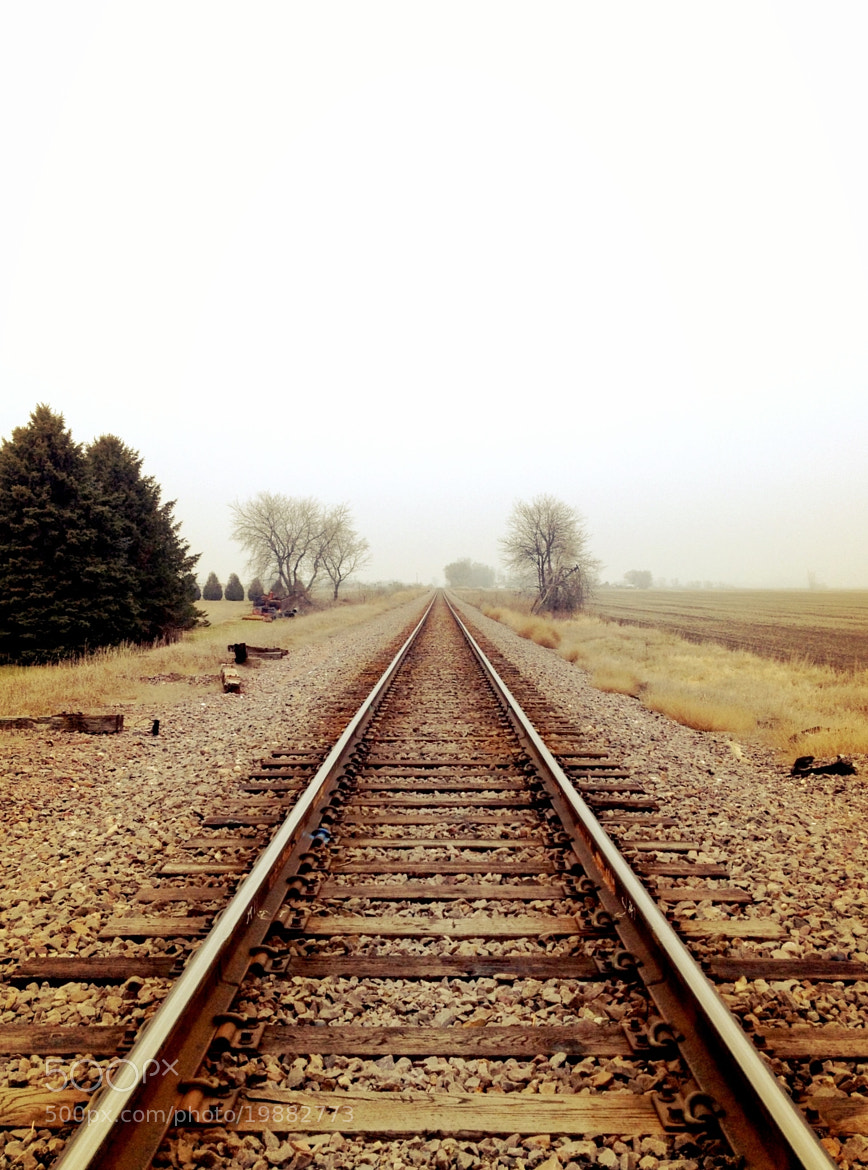 Photograph Foggy Tracks by Risa Jenner on 500px