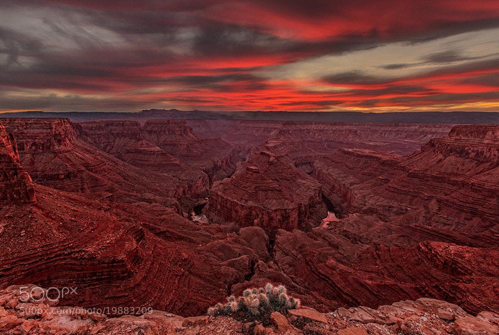 Photograph Sunset Over Tatahatso by John Mumaw on 500px