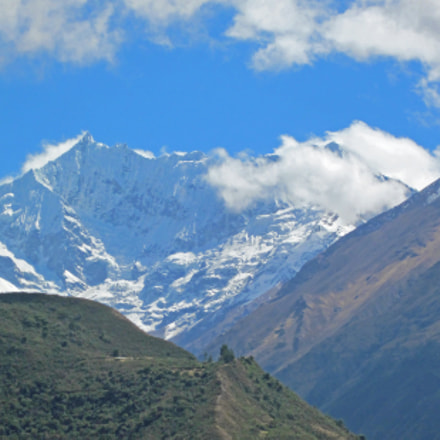 Mount Salkantay, Canon POWERSHOT SD1300 IS
