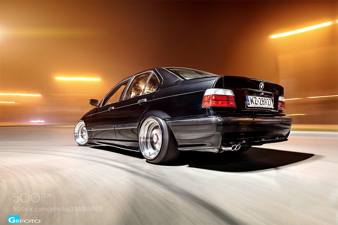 Photograph Bmw E36 Black Rigshot by Gii Foto on 500px