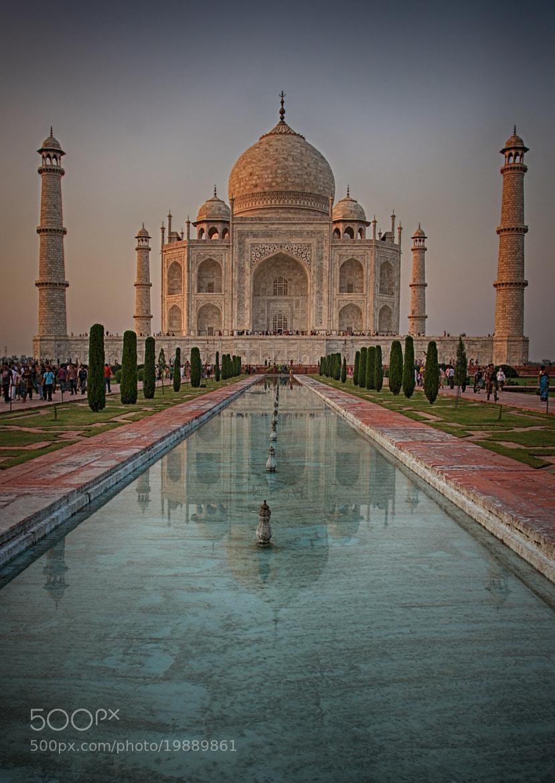 Photograph Taj Mahal & Pond View by Kim Andelkovic on 500px
