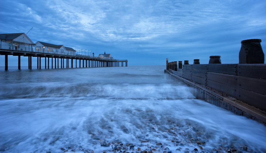 Southwold Pier and Groynes
