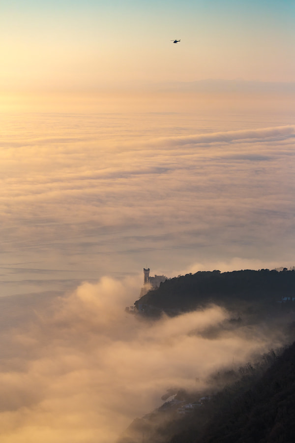 Sea Level Fog by Jure Batagelj on 500px.com