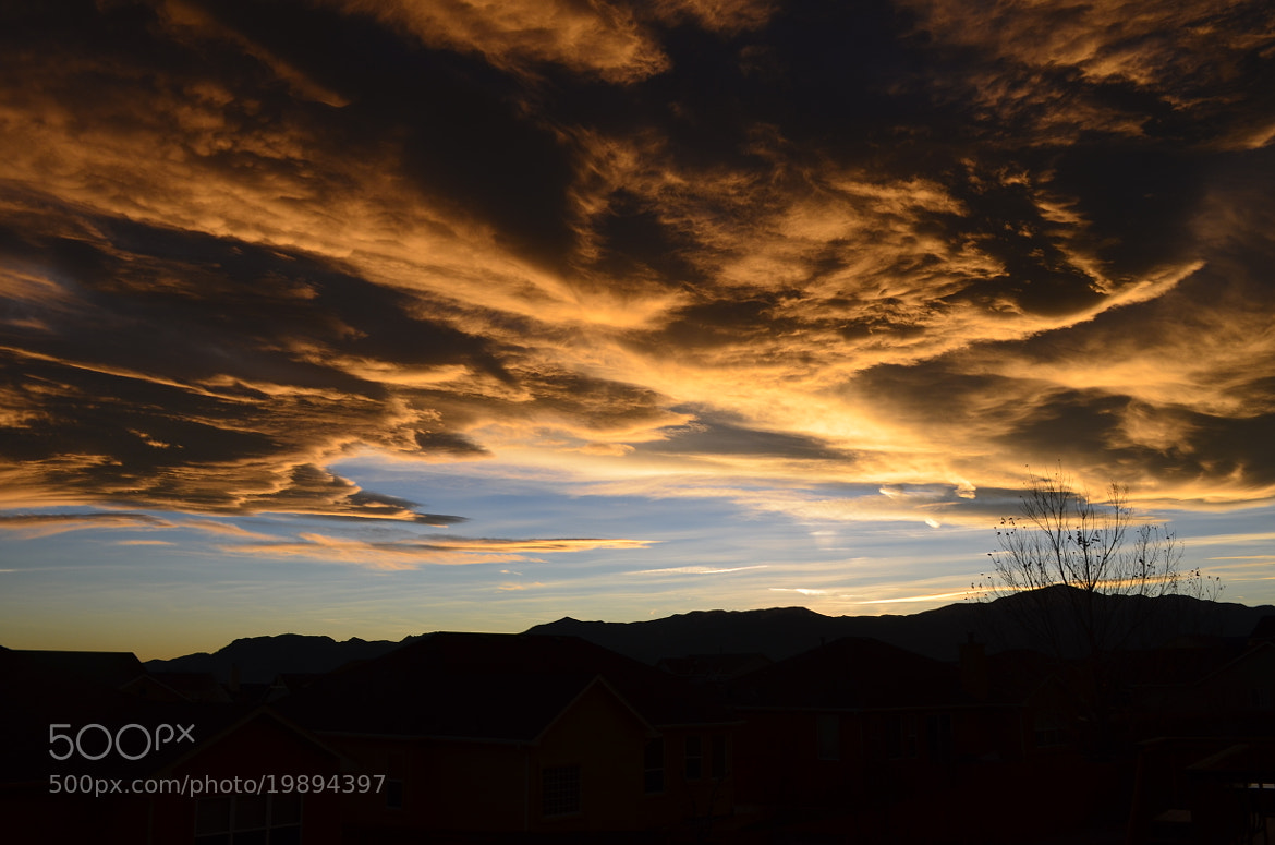 Photograph Mountain Sunset Clouds by Jeff Heredia on 500px