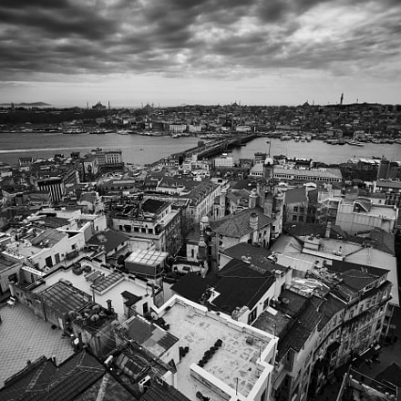 Istanbul from Galata Tower, Canon EOS 6D, Canon EF 17-40mm f/4L USM