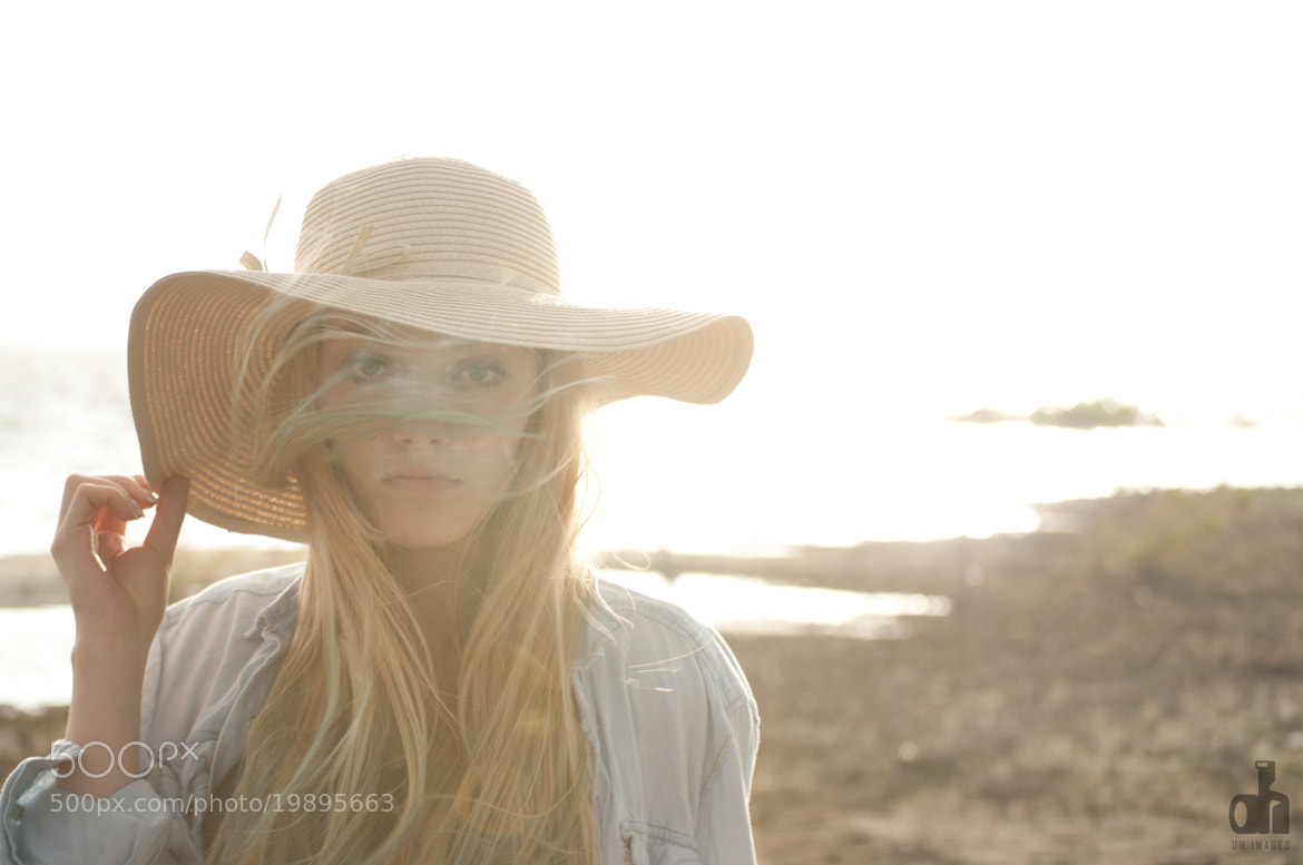 Photograph Blonde Hair Blowing in the Summer Wind by Dan Hansen on 500px