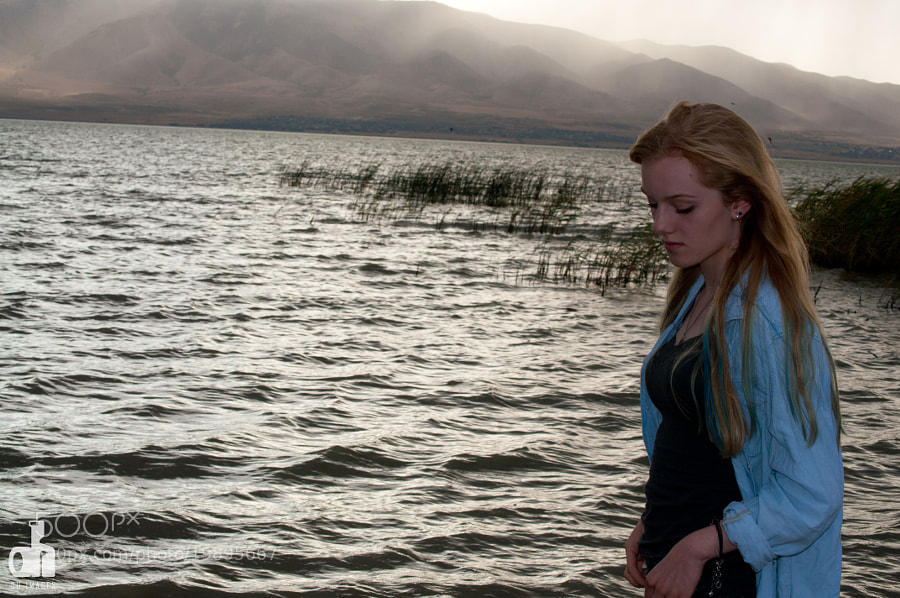 Photograph Anna at Utah Lake   by Dan Hansen on 500px