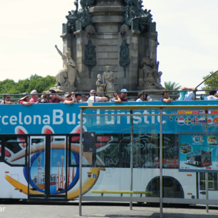 Sightseeing Bus Barcelona, Fujifilm FinePix S8100fd
